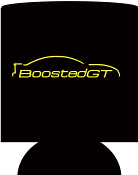 BoostedGT Black Koozie